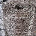 Barato arame farpado galvanizado arame farpado por metro preço arame farpado