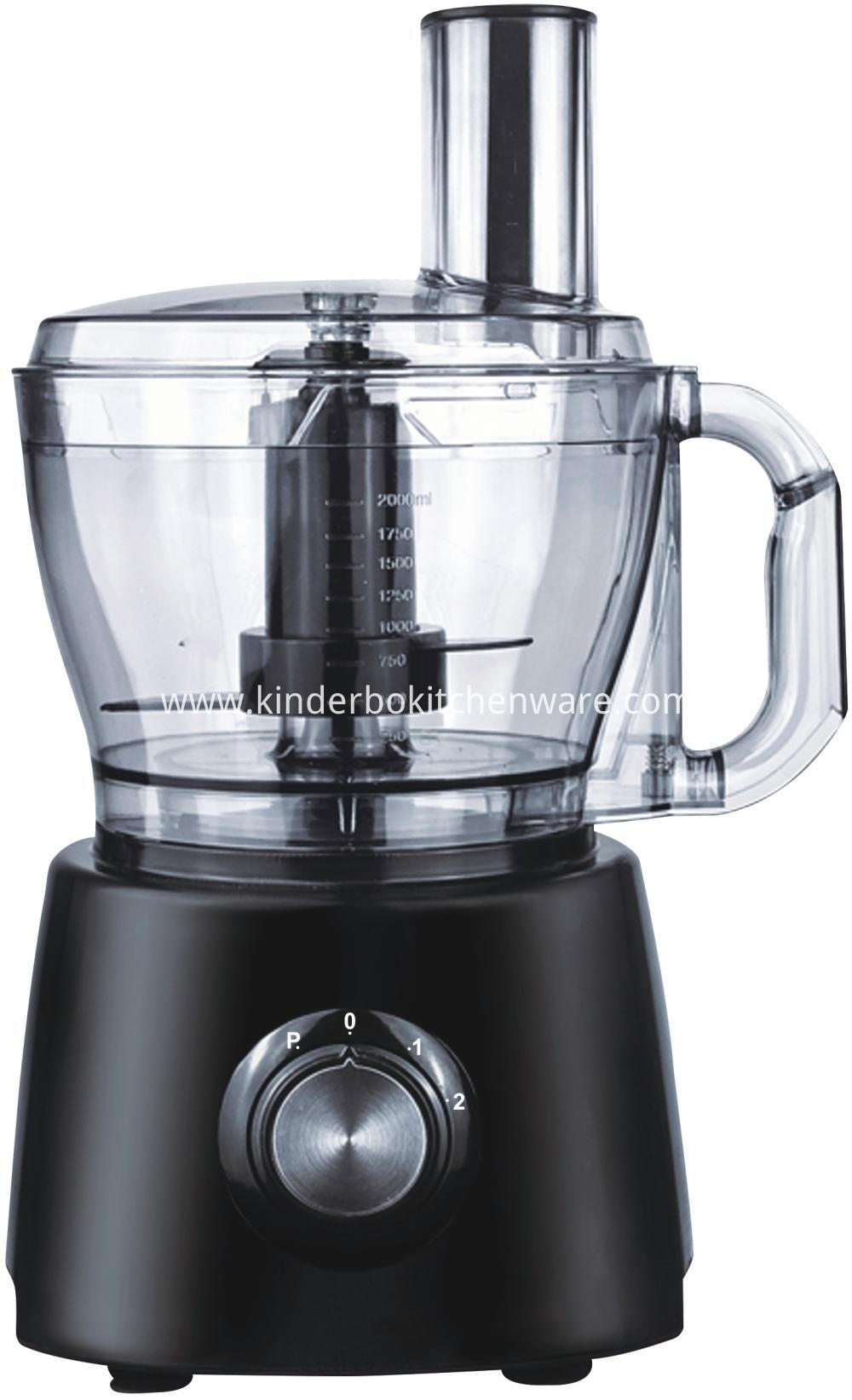 2L Kitchen Electrical Stainless Steel Food Processor