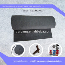 Luftreinigung Aktivkohlefilz (für Luft- und Wasserreinigung)