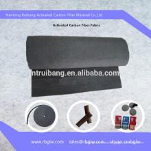 Fieltro de fibra de carbono activado por purificación de aire (para purificación de aire y agua)