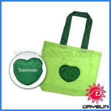 210T reusable collapsible shopping bag