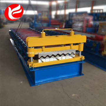 Manufacturing Companies for China Manufacturer of Wall And Roof Tile Making Machine,Wall And Roof Tile Roll Forming Machine Lightweight siding steel wall panel roll forming machine export to Dominican Republic Factory