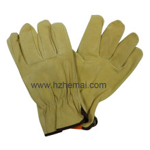 Pig Leather Mechanic Driver Glove