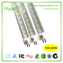 Hot sale t5 single led tube 18w 1163mm avec couvercle transparent dimmable t5 tube light