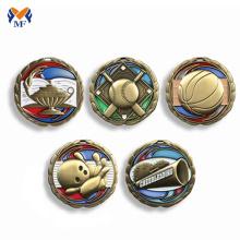 Профессиональная медальер металлического цвета медаль Георгия