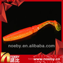 NOEBY double-color shrimp fragrance & luminous soft bass soft lure