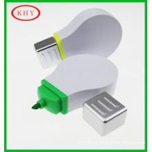 Lovely promtional gift set bulb shape highlighter