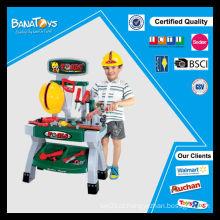 As crianças as mais vendidas educacionais da construção plástica ferramenta conjunto de brinquedos