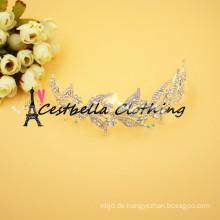 Barock Metall Gold Hochzeit Stirnband Haarschmuck Braut Schmuck Kopfschmuck Kopfbedeckungen