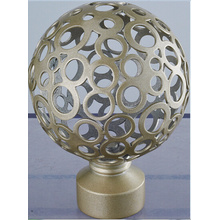 Hot Sale Iron Curtain  Finial