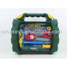 Ferramenta de plástico educacional conjunto de ferramentas de brinquedo mão