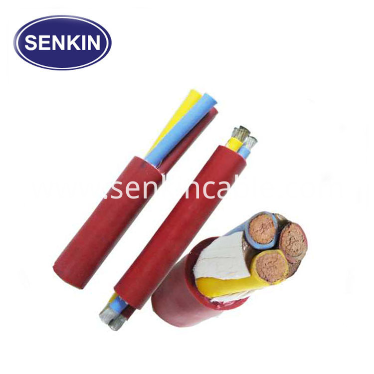 FEP Insulation Silicone Jacket Teflon Multicore Cable