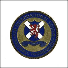 Двусторонняя штампованная 3D мягкая эмаль футбольная монета (GZHY-JZ-011)