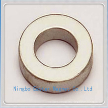 Gold Plating Big Ring Permanent NdFeB Ring Magnet