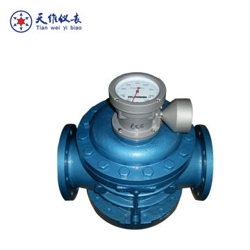 Positive Displacement Flowmeter for Crude Oil