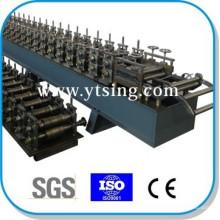 Passado CE e ISO YTSING-YD-6626 Automática de Controle de Porta de aço Frame Roll formando máquinas