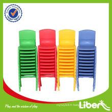 Ensemble de table et de chaise en plastique préscolaire pour enfants LE.ZY.006 Garantie de qualité