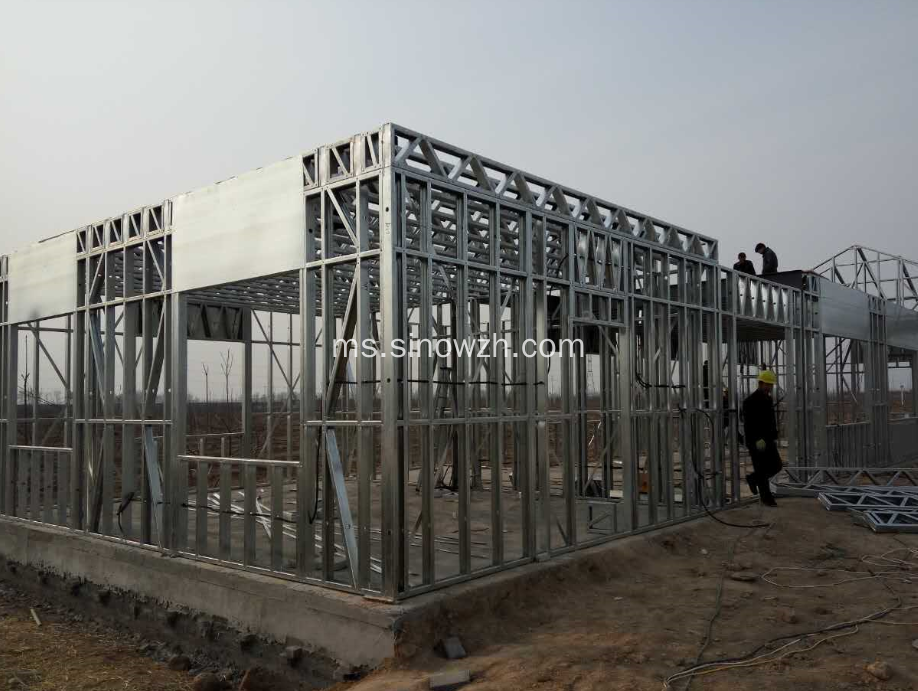 Panelized Steel Framed Cottage For Prefabricated House