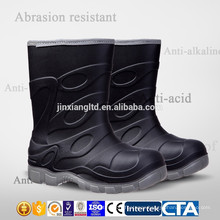 JX-916 CE colorful PVC kids rain boots & TPR Injection Rain boot for kids