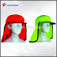 Meets ANSI Standards Safety High Visibility Reflective hard hat neck shade safety sun shade for hard hat