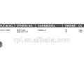 EMBREAGEM DE VENTILADOR AUTOMÁTICO DE REFRIGERAÇÃO PARA COROLLA 4K 1300CC GMB: GWT-59F