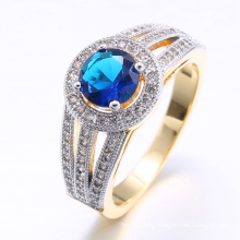 new arrivals 2018 18k white gold plated ring for women