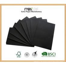 80GSM A4 Schwarzes Farben-Schreibens-Auflage-Papier für Kind-Zeichnungs-Notizbuch