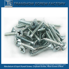 4.2X35 C1022 Steel Hardend Blue White Galvanized Drywall Screws