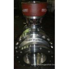Válvula de esfera de extremidade de flange API RF com montagem de trunhão