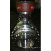 Фланцевый шаровой клапан API RF с кронштейном