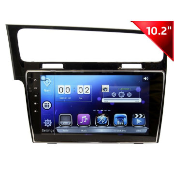 Yessun 10,2-дюймовый HD Car Audio для VW Golf7 (HD1009)