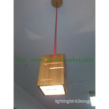 wooden modern pendant lamp for kitchen and dining room