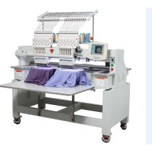 2 cabeças computadorizada preço da máquina do bordado do t-shirt