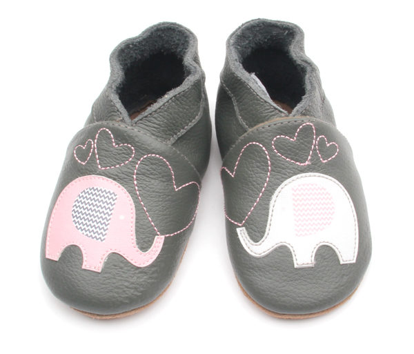 Animal Pattern Genuine Leather Soft Baby Shoes Fancy