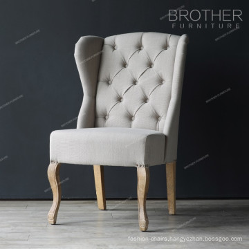 Factory cheap wood and fabric used frame hotel banquet chair