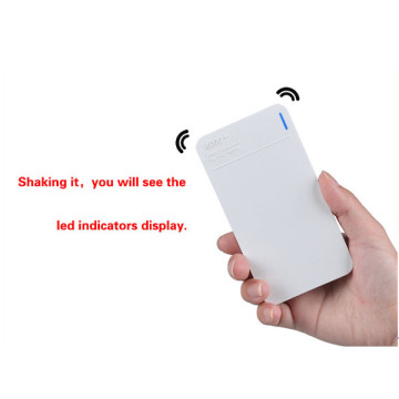 Nuevo 4000mah Polymer Ultra Thin Power Bank