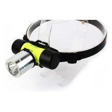 900 Lumens Waterproof Headlamp for Diving