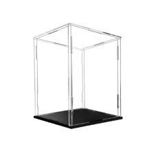 Customized Classic Tabletop Rectangle Clear Plastic Acrylic Toy Display Box