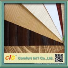 Funitue Utilisez le film de décoration de PVC avec le grain en bois