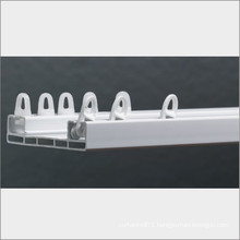2 rail pvc curtain window manufacturer