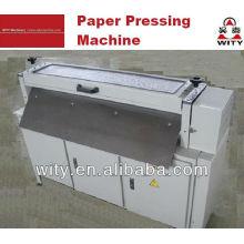Máquina de prensa plana de papel
