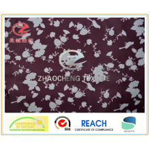 210t Poly Taffeta Flower Printing Garment Fabric