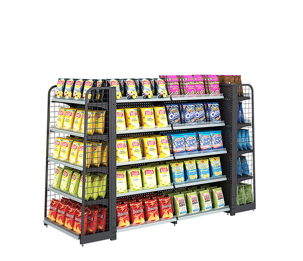 Supermarket Backhole Display Rack