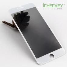 Chegada nova! Privacidade filme de vidro temperado de fibra de carbono para Iphone7 plus