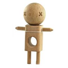 China alenda kendoma robô de madeira shegun boneca para atacado