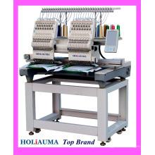 HOLIAUMA 2 head computer embroidery machine for Embroidery CAD Software DST DSB embroidery