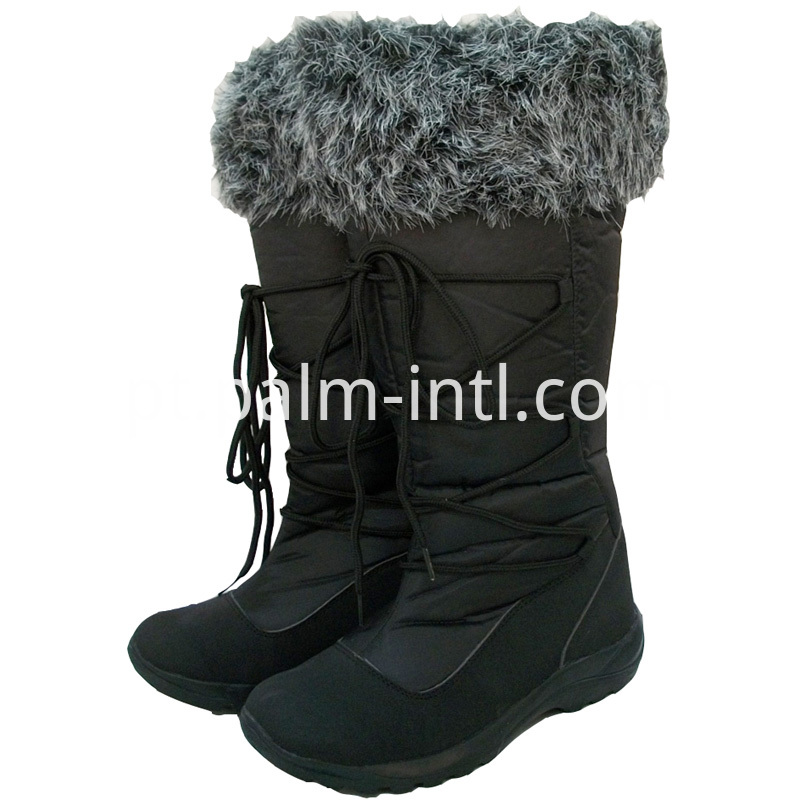 Fur Collor Warm Snow Boots