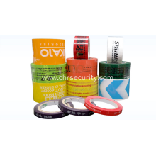 Adhesive printed opp wrapping tape