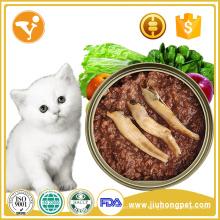 Aliments pour animaux de compagnie Vente en gros Nutrition réelle Santé Aliments en conserve de chat