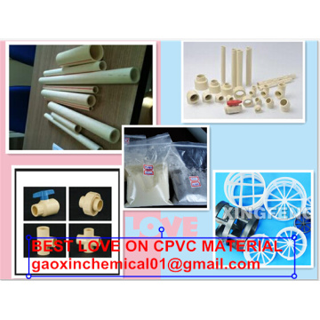 China Exporter for CPVC Compound CPVC Fitting Granules supply to San Marino Supplier